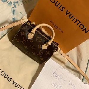 Louis Vuitton Speedy Nano